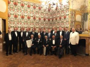 Foto di gruppo per i Past President presenti alla serata